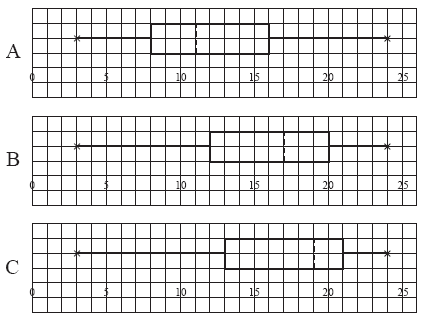 graph paper boxes